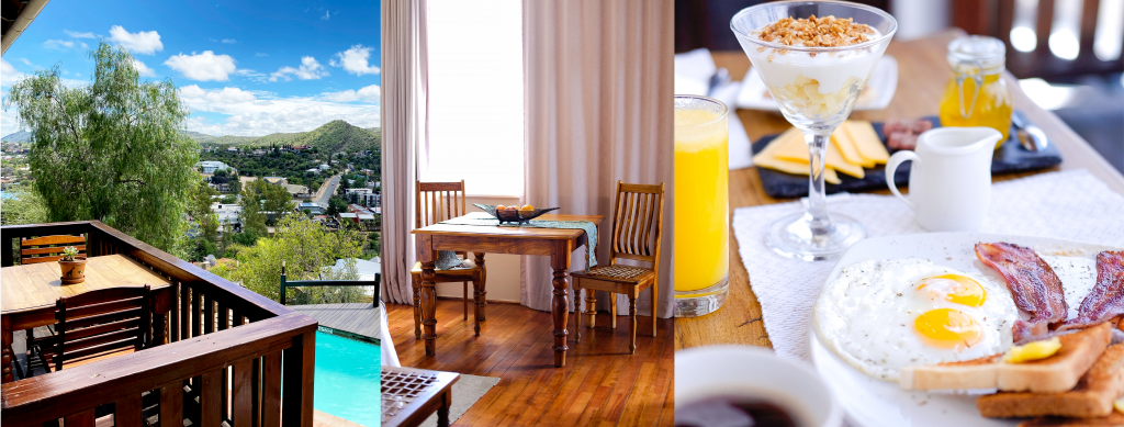 Hilltop Guesthouse Windhoek comfortable, simple and affordable destinations